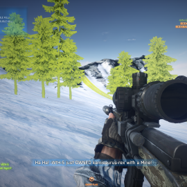 Battlefield 3 – Bright Green Graphics Glitch