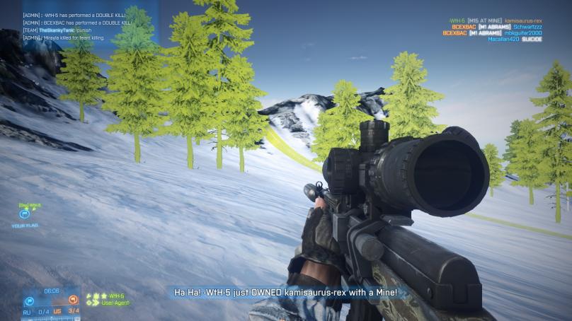 Battlefield 3 – Bright Green Graphics Glitch
