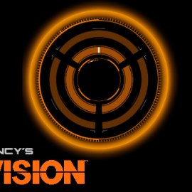 The Division Simple Watch Face Phone Wallpaper