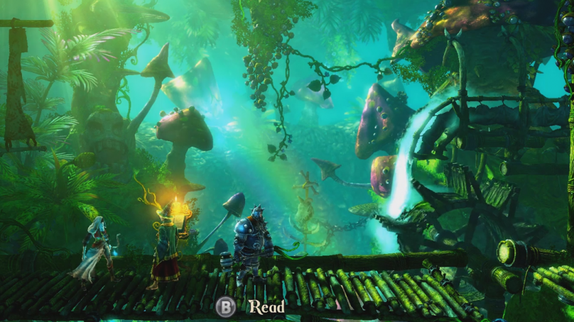 Trine 2 Chapter 08 Playthrough